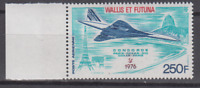 PP481- WALLIS & FUTUNA 1976 FIRST CONCORDE FLIGHT PARIS-RIO-PARIS C6584 MNH