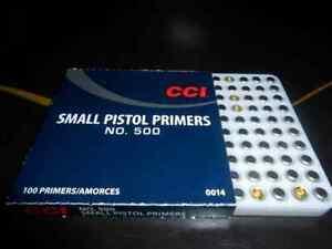 CCI INNESCHI 500 SMALL PISTOL *Conf. 100 pz.*