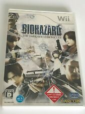 Biohazard The Darkside Chronicles - Nintendo Wii - Japanese Import JP JAP NTSC