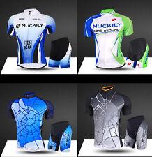 Herren Atmungsaktiv Biketrikot Radfahren Fahrradtrikot & Fahrradhose Kurzarm L02