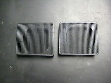 67 68 Cadillac DeVille Fleetwood Stereo Radio Dashpad Speaker Grille Set