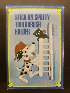 Vintage Stick On Spotty Kids Toothbrush Holder Vintage New Old Stock