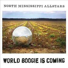 NORTH MISSISSIPPI ALLSTARS - WORLD BOOGIE IS COMING [DIGIPAK] Like NEW CD