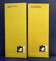 Edinburgh Int Festival - DALIBOR & CUNNING LITTLE VIXEN programmes 1970