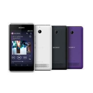 "Original Andriod Sony Xperia E1 D2005 3G WIFI 3MP Bluetooth GPS Radio Phone 4.0"""