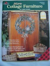 Plaid More Cottage Furniture Chris Stokes Decorative Painting Craft Book #9554