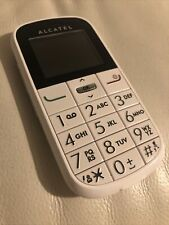 Alcatel One Touch 282 2G - Big Button Phone - Very  Good Condition - Unlocked