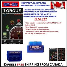 interface Bluetooth OBD2 Scanner Android - OBD 2 Mini OBDII Adapter Check Engine