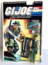 GI Joe G.I. Joe Muskrat First Version 1987 Mint on Card!
