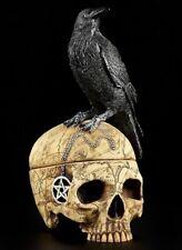 Nemesis Now MS Familier Crâne avec Corbeau Boîte À Bijoux par Lisa Parker 27cm