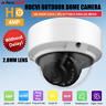 HD 4MP CCTV Outdoor Dome Security Camera 2.8mm Lens Smart IR 2in1(CVI/Analog)
