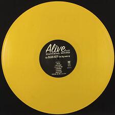 BLACK KEYS - THE BIG COME UP - THEIR 1st LP-  LEMON VINYL- RARE 2011 PRESSING
