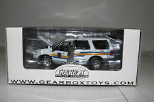 GEARBOX POLICE VEHICLES, PEURTO RICO POLICE DEPT. FORD EXPEDITION, 1:43, NIB