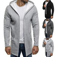 Unifarbene Herren-Kapuzenpullover & -Sweats mit Kapuze aus Baumwolle