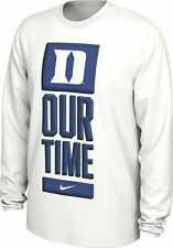 NEW Nike Mens Duke Blue Devils Our Time Bench Long Sleeve Basketball Shirt XXL