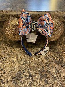 Disney Riviera Resort Minnie Mickey Ears Headband Dvc Brand New Sequins