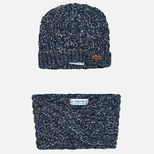 New Mayoral Baby Boy beanie and snood scarf set, age 6 months 10446