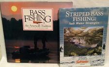 Lot of 4 Bass Fishing Books American Tradition Sport Salt Water Fresh Water