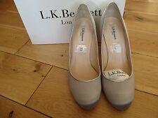 L.K. BENNETT Ladies Satin Court Shoes size 6 UK - 39 EU. Cost £140