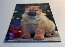 Folder School Vintage Dog Puppy Purrs And Grrrs 2000 3 Ring Binder Folder
