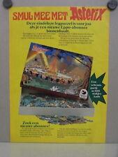 Advertising NL weekblad 1977 / ca.A4 / Asterix Dargaud puzzle 500 (e-02736)