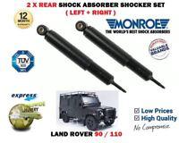 Per Land Rover 90 110 4X4 1984-1990 Nuovo 2 X Set Ammortizzatore Posteriore
