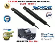FOR LAND ROVER 90 110 4X4 1984-1990 NEW 2 X REAR SHOCK ABSORBER SHOCKER SET