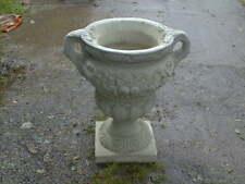 1  very  large Gloucester urn antique finish ( stoneware planter pot )