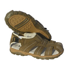 Kinder Sandale Trekkingsandale Leder Spielschuhe Sommerschuhe Jungen  32 NEU