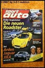 Sport Auto 5/99 Lotus Elise Esprit Sport 350 Arden Jaguar