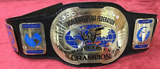 WWF world Intercontinental IC OVAL Championship Belt old style