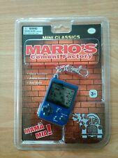 Game Boy mini Classics Mario's Cement Factory nuevo/en el embalaje original consola Nintendo rar Top