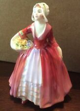 1932 Royal Doulton Figurine Janet In Red Hn 1537