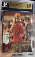 2003 Upper Deck Lebron's Diary Lebron James ROOKIE  9.5 BGS 10 Subs GEM MINT