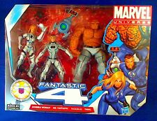 MARVEL UNIVERSE FANTASTIC FOUR: INVISIBLE WOMAN+MR FANTASTIC+H.E.R.B.I.E+THING
