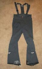 NABHOLZ Ski Pants Winter Wear Stretch Overall Bib Swiss Made Size M Gray