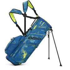 Ogio Woode Hybrid 8 Stand Golf Bag Mens - Blue Floral - New 2021