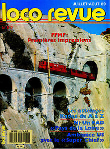 Loco Review 517 Of 1989. The Railcars Ead 330 Kw And X 4630 Of Transmondia