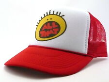 All That Trucker Hat mesh hat snapback hat Red  new Nickelodeon TV show hat