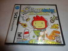 Scribblenauts  (Nintendo DS, 2009) NEW DSL DSI 3DS