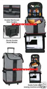 Flambeau Artbin Tote Express Craft Sewing Storage Trolley Bag