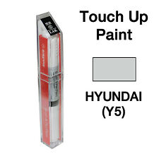 Hyundai OEM Brush&Pen Touch Up Paint Color Code : Y5 - Sleek Silver
