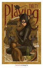 Catwoman, George Frei, Batman, Art, Print