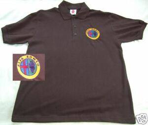 Alfa Romeo Logo embroidered on Polo Shirt