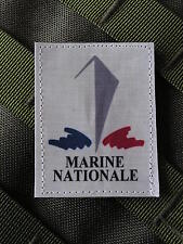 SNAKE PATCH - MARINE NATIONALE - COULEUR MER MARIN ANCRE BATEAU SNLE COMMANDO