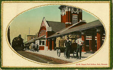 RAILWAY STATION :PORT ARTHUR (Ont) C.P.R.Depot -RSO single ring cancel