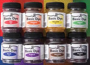 Basic Dye -  Farbe für Acryl , Holz,  Leder, Acryl färben