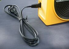Ac Cord for Panasonic Portable 8-Track Players/Radios~Tnt / Swiss~Weltron~Sony+
