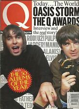 Q JAN1997 #124/OASIS/ P.J.PROBY/Q AWARDS/BABY BIRD/THE CURE/TV HELL/PRINCE/ALICE
