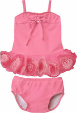 NWT Isobella and Chloe Baby Girl Bella Rose Tankini Two-Piece Swimsuit ~ Size 6M